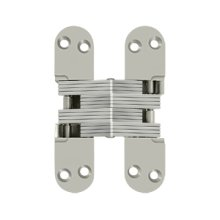 "4 5/8"" x 1 1/8"", Concealed Hinge - Brushed Nickel"
