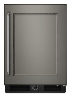 """24"""" Stainless Steel Undercounter Refrigerator - Panel Ready"""