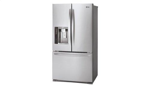 20 cu. ft. Large Capacity Counter-Depth 3-Door French Door Refrigerator