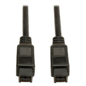 FireWire 800 IEEE 1394b Hi-speed Cable (9pin/9pin M/M) 6-ft.