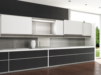 Multimo Flat: Multiple Motion Door System (for Wood Panels)