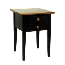 """#265 Wrightsville End Table 19""""wx19""""dx25""""h"""