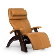 Perfect Chair PC-610 - Sycamore Premium Leather - Dark Walnut