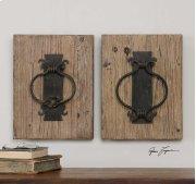 Rustic Door Knockers, S/2 Product Image