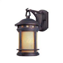 "5"" Wall Lantern in Mediterranean Patina"