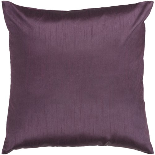 """Solid Luxe HH-039 22"""" x 22"""" Pillow Shell with Polyester Insert"""