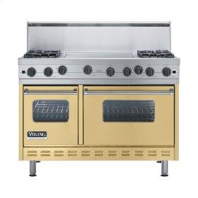 """Golden Mist 48"""" Open Burner Range - VGIC (48"""" wide, four burners 24"""" wide griddle/simmer plate)"""
