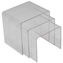 Casper Acrylic Nesting Table in Clear