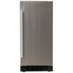 "Refrigerator - 15"" Solid Stainless Door"