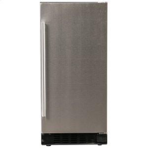 """Azure Home ProductsRefrigerator - 15"""" Solid Stainless Door"""