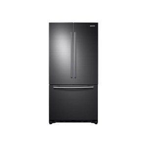 Samsung18 cu. ft. Counter Depth French Door Refrigerator in Black Stainless Steel