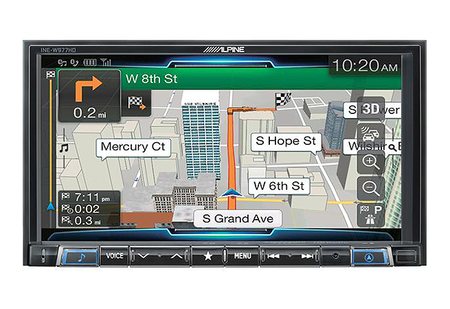 "7"" Mechless Navigation Receiver"