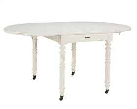 Jo's White* Windsor Oval Dining Table