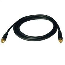 12-ft. RF Digital Coax Gold Audio Cable (RCA M/M)
