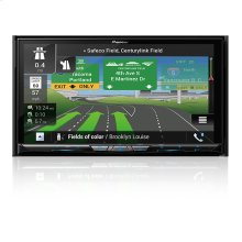 "Flagship In-Dash Navigation AV Receiver with 7"" WVGA Capacitive Touchscreen Display"