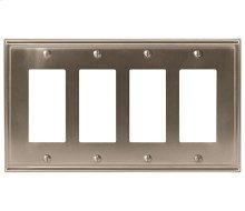 Mulholland 4 Rocker Wall Plate