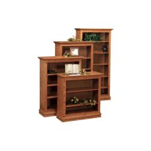 "72"" Traditional Bookcase"