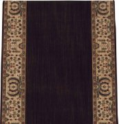 HARD TO FIND SIZES GRAND VELVET PT99 BROWN RECTANGLE RUG 4'8'' x 35'