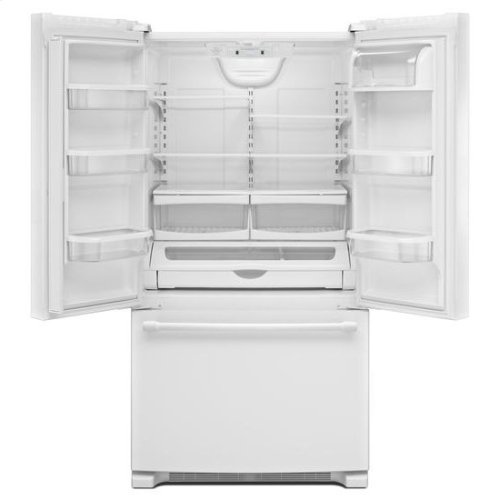 Maytag® 36-Inch Wide French Door Refrigerator - 25 Cu. Ft. - White