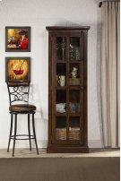 Tuscan Retreat® Tall Single Door Cabinet - Rustic Mahogany Product Image