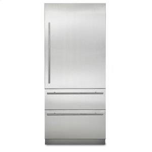 "Viking36"" Virtuoso Fully Integrated Bottom-Freezer Refrigerator - MVBI7360W Virtuoso 6 Series"