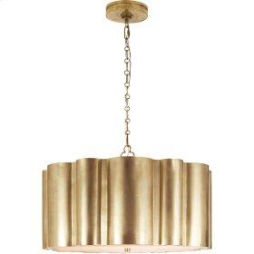 Visual Comfort AH5215NB Alexa Hampton Markos 4 Light 26 inch Natural Brass Pendant Ceiling Light