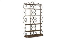 Continental Bookcase Etagere - Weathered Nutmeg/Glazed Ingot