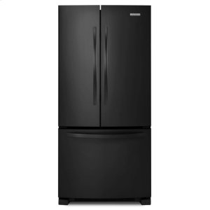 KitchenAid22 Cu. Ft. Standard-Depth French Door Refrigerator, Architect® Series II - Black