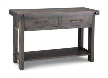 Rafters Sofa Table w/ 2 Drawers w/Shelf