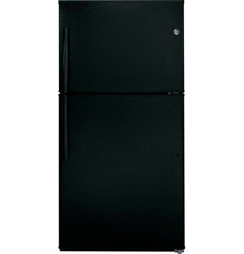 GE® ENERGY STAR® 21.2 Cu. Ft. Top-Freezer Refrigerator