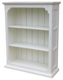 Cottage Open Cabinet - Wht