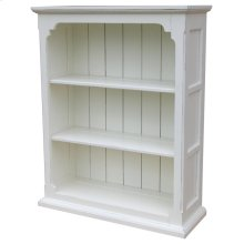 Cottage Open Cabinet - Wht