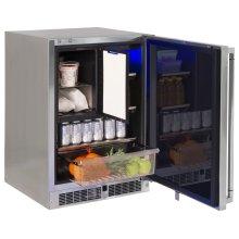 "24"" Refrigerator Freezer Combo, Right"