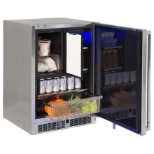 "24"" Refrigerator Freezer Combo, Right"