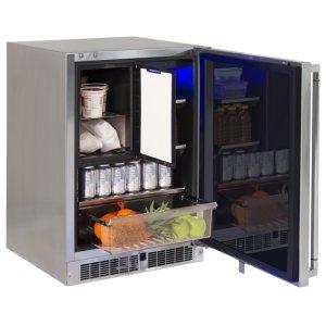 "Lynx24"" Refrigerator Freezer Combo, Left"