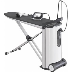 MIELEB 3847 FashionMaster Steam ironing system with display and steamer for perfect ironing results and convenience.