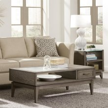 Vogue - Coffee Table - Gray Wash Finish