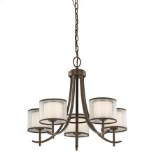 Tallie Collection Tallie Chandelier 5 Light MIZ