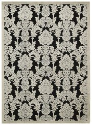 """GRAPHIC ILLUSIONS GIL03 BLK RECTANGLE RUG  Available in Sizes:  2'.3""""X 3'.9"""",  2'.3""""X 8'.0"""",  3'.6""""X 5'.6"""",  5'.3""""X 7'.5"""",  7'.9""""X 10'.10"""" Product Image"""
