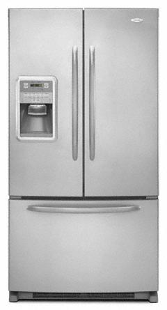 Full-Depth French Door Bottom Mount Refrigerator