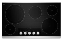 "36"" Electric Cooktop with 5 Radiant Elements - Stainless Steel (KECC664BSS) - ONLY AT THE JONESBORO LOCATION !!!!"