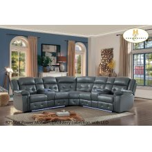 3pc Power Sectional