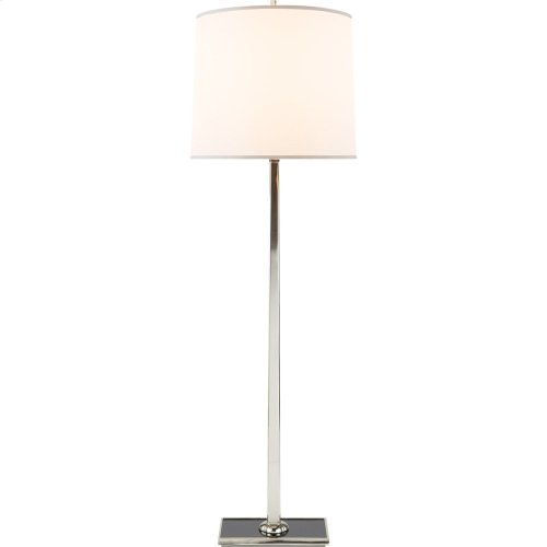 Visual Comfort BBL1025SS-S Barbara Barry Petal 58 inch 150 watt Soft Silver Decorative Floor Lamp Portable Light