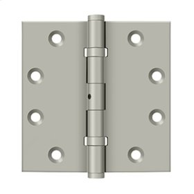 "4 1/2""x 4 1/2"" Square Hinges, Ball Bearings - Brushed Nickel"