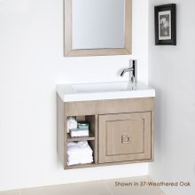 A set of metal inlay for Dimini vanity 5273C and 5274C