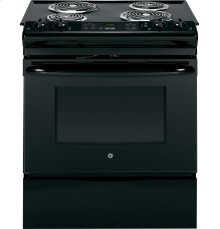 "GE® 30"" Slide-In Front Control Electric Range"