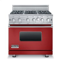 "36"" Open Burner Gas Range, Natural Gas"