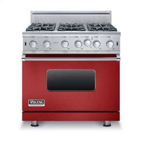 "Viking36"" Open Burner Gas Range, Natural Gas"