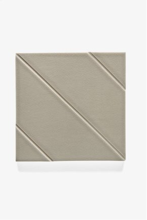 "Architectonics Handmade Odyssey Decorative Field Tile Maze Embossed 6"" x 6"" STYLE: ARDF18"