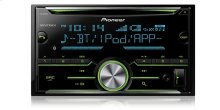 2-Din CD Receiver with enhanced Audio Functions, Full-featured Pioneer ARC App Compatibility, MIXTRAX®, Built-in Bluetooth®
